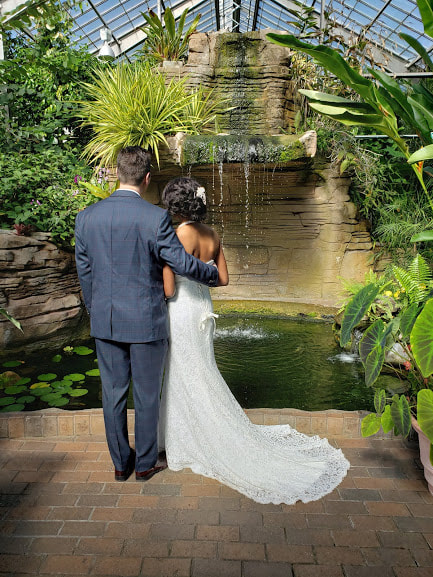 Elope In Indy - Garfield Park Conservatory