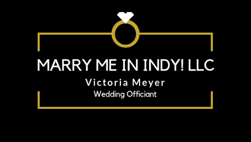 Marry Me In Indy! LLC Indianapolis Wedding Officiant Services