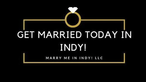Get Married Today In Indy! Indianapolis Wedding Officiant Services.  Marry Me In Indy! LLC