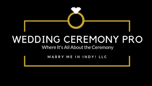 Wedding Ceremony Pro.  Marry Me In Indy! LLC Indianapolis Wedding Officiant Services